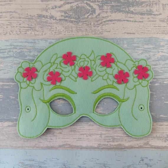 Moana felt masks
