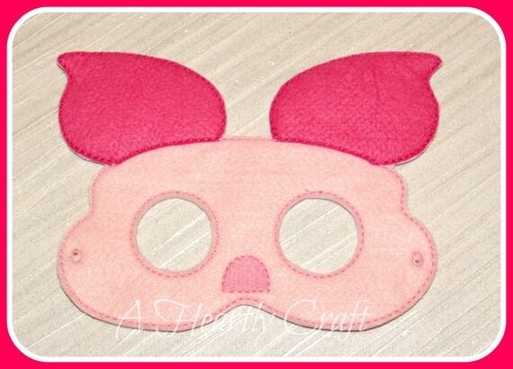 5b81decbac2bfb Cochon porc Barnyard masque porcelet Masque Masque   Etsy