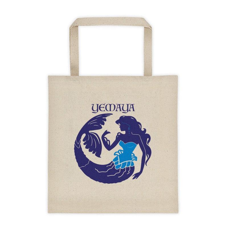 Yemaya Mermaid Santeria. Yemaya Bag Yemaya Tote bag