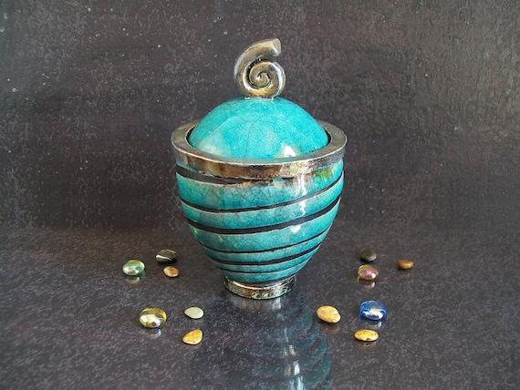 Raku jar keramische suikerpot moderne keuken decoratieve etsy