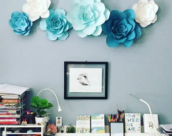 Giant Wall Flowers Etsy