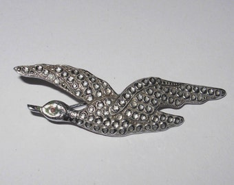 Vintage 1940s/1950s Flying Duck Brooch