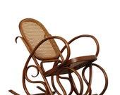 Thonet Antique Bentwood Rocker Childs Rocking Chair