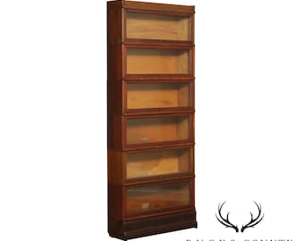 Globe Wernicke Antique Oak 6 Stack Barrister Bookcase