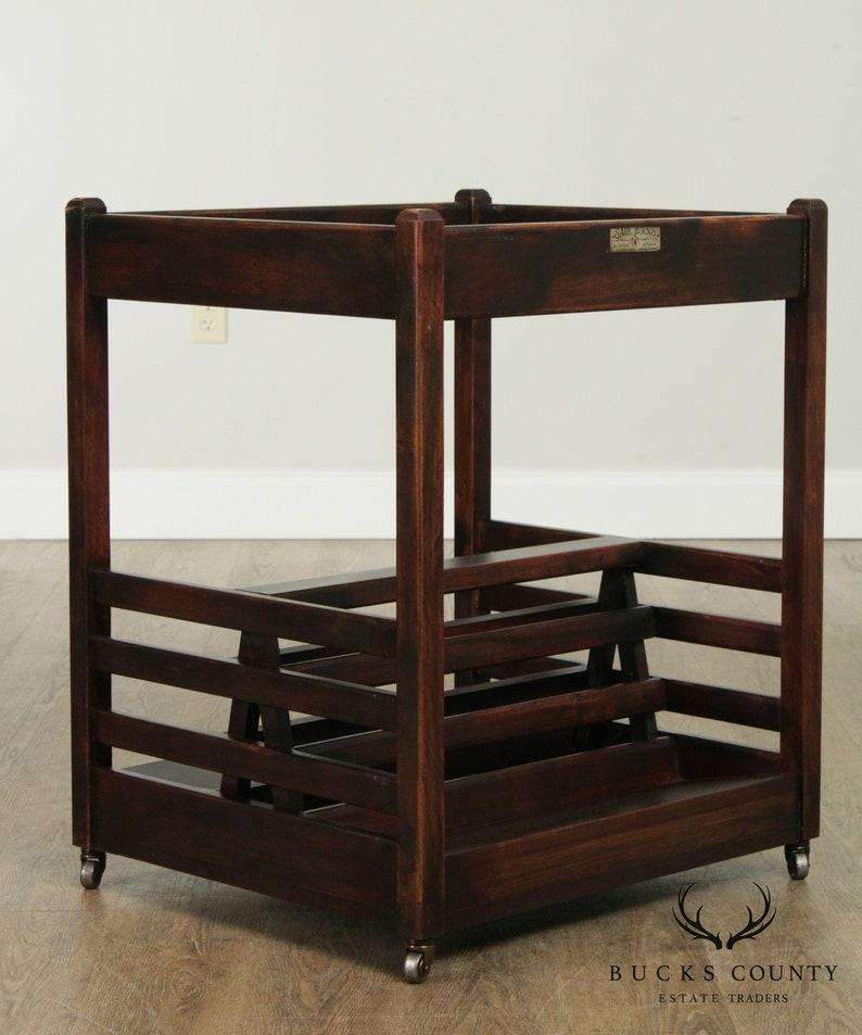 Saul Birns Unusual Art Deco Era Display Rack
