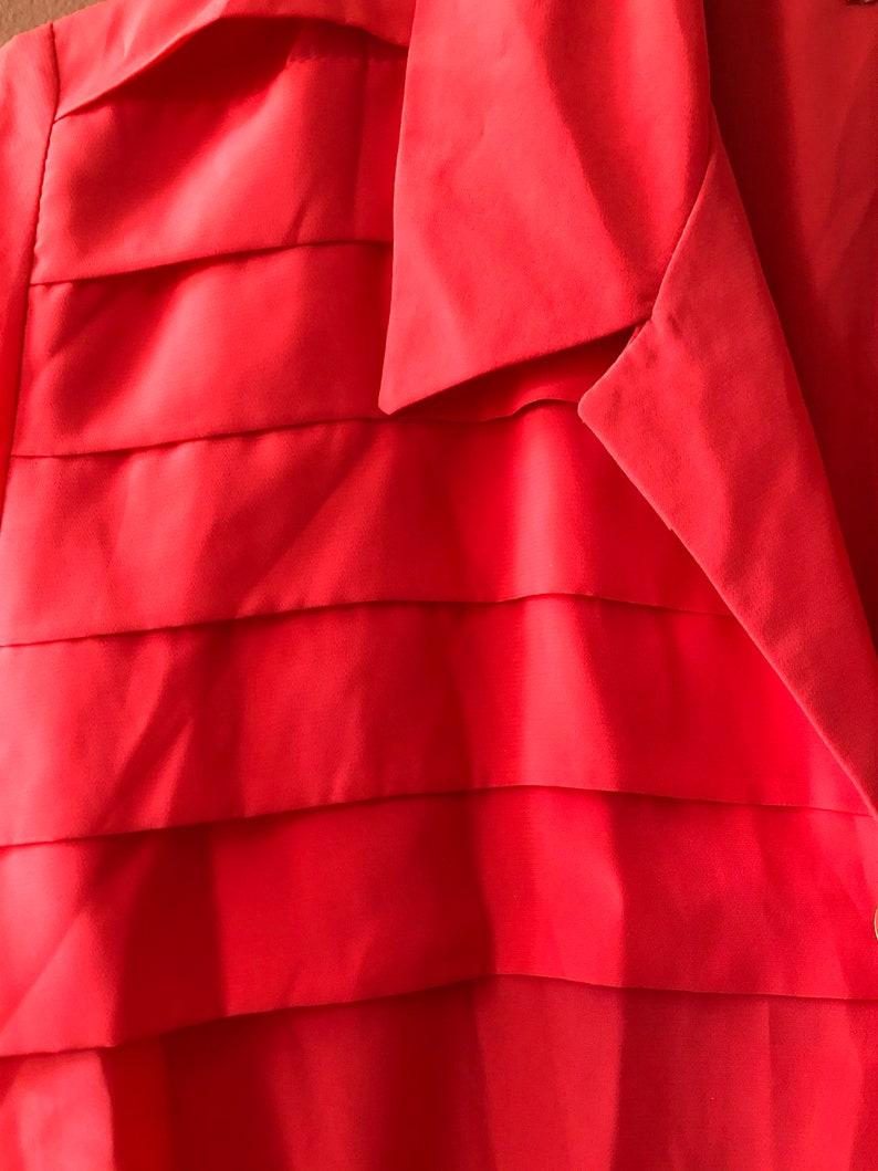 Gemma Hot Pink Button Up Dress
