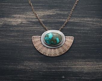 Candelaria Shield Necklace