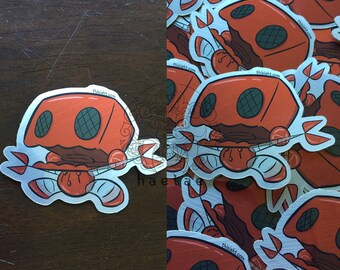 BoomBoom the Robot sticker