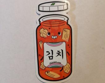 Kimchi Jar sticker