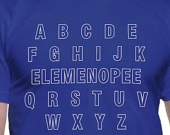 Elemenopee Alphabet T-Shirt