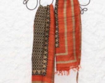 Écharpes d hiver pour femme - foulards en soie durable ahimsa tissé à la  main bd921fec167