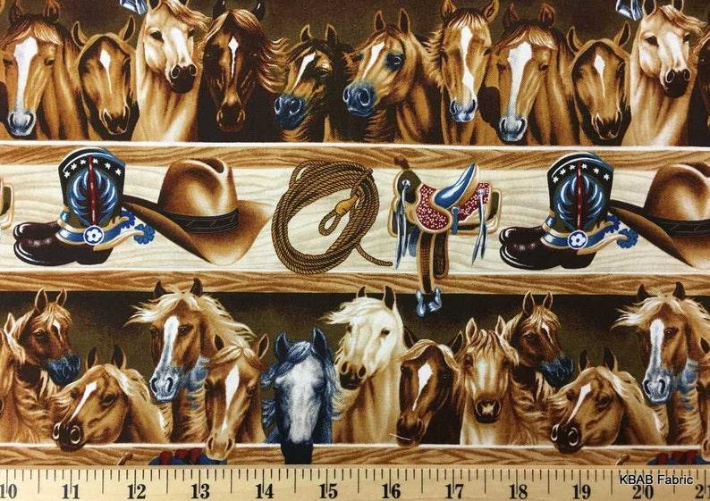 ba4e8f95511 Cowboy Fabric Western Horse Fabric Saddle Rope Tack Fabric
