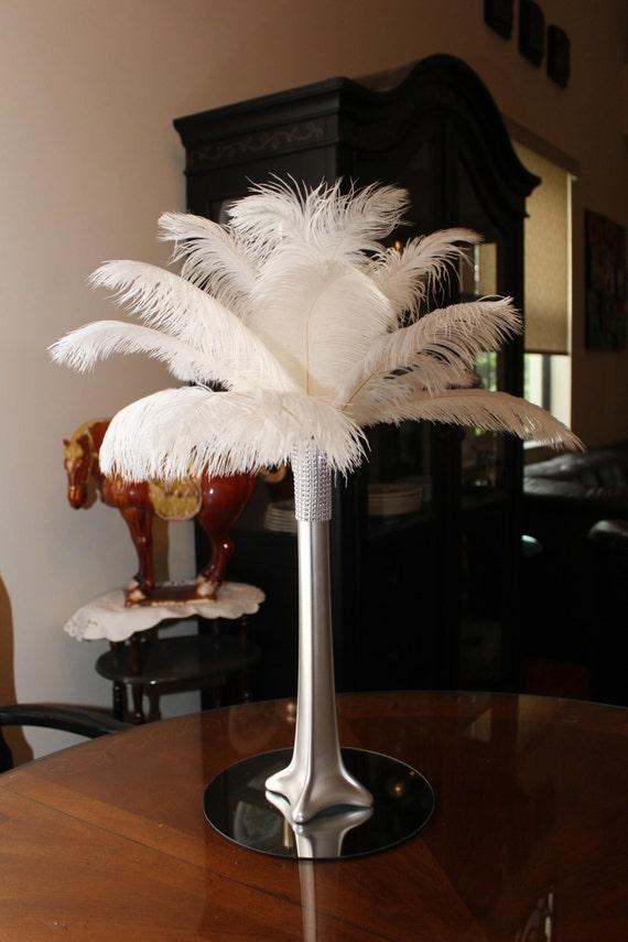 Ostrich Feather Centerpieces Ready To Order 1713kaartenstemp