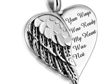Chain Sold Separately Hearts On Round Ball Cremation Pendant