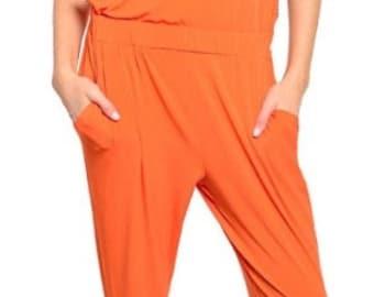 Embellished Jumpsuit with Bandeau