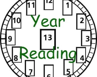 Your Year Tarot Reading Forecast
