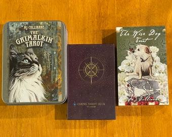 3 card Tarot reading - Angels Ancestors Heart