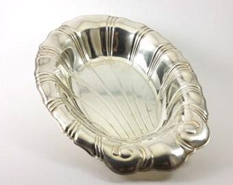 Silver Bowl   Neptune Art Deco (9312)   1847 Rogers Bros.   Collectors