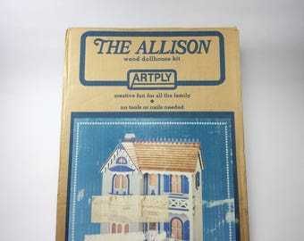 """Doll House Kit """"The Allison"""" By Artply # 77"""