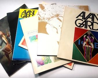 AVANT GARDE Magazines # 1 to # 7 (Half-Run)   Near Mint Condition   Ralph Ginzburg   1968