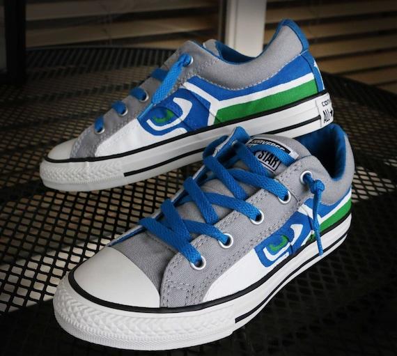 best sneakers 20478 7eef6 ... Seattle Seahawks Shoes Etsy ...