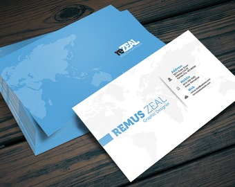 Social media designer business card photoshop psd template etsy corporate business card photoshop psd template instant download easy editing layered change colors and details fast wajeb Images