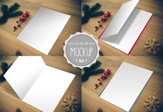 Greeting card mockup instant download photoshop psd etsy image 0 maxwellsz