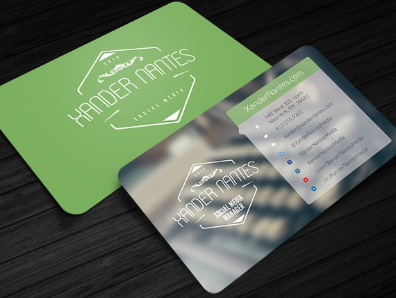 Social media designer business card photoshop psd template etsy image 0 colourmoves