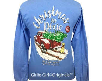 Girlie Girl Originals Christmas in Dixie Long Sleeve Unisex Fit T-Shirt