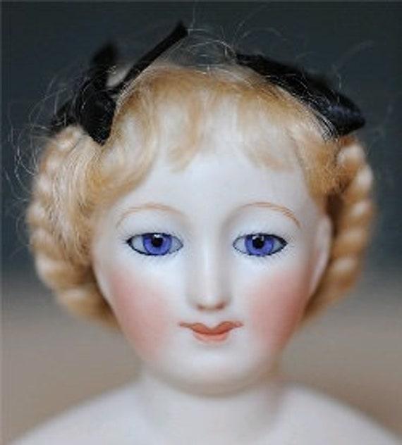 """Antique Repro BJD /& More /""""Gabrielle/"""" Mohair Wig Size 5-6,7-8,9-10,11-12,13-14"""