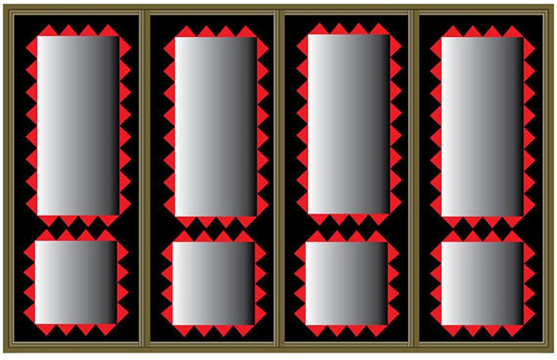 36 x 48 3ft x 4ft home decor wallpaper wall paper vector panel design pattern water-resistant Matte Finish Plaster Texture Art Canvas