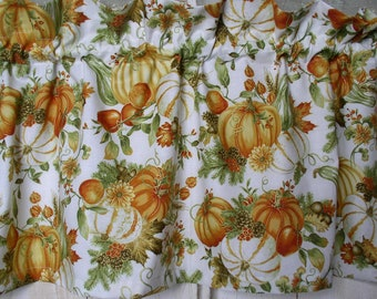 Fall Curtains Etsy
