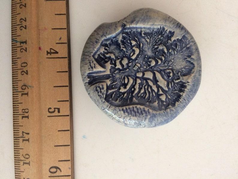 Pipe,Pocket pipe,Mini Pipe,Art,Ceramic Toke Stone,Ceramic Smoke Stone,Smoking pipe,Clay Handmade Smoke stone,Toke stone Tree unique blue