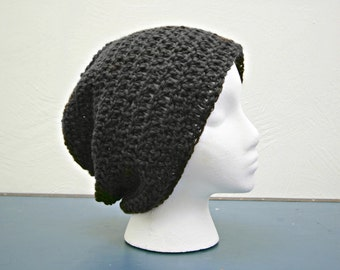 Hand Crocheted Super Slouch Beanie