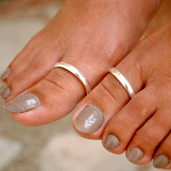 Wide toe ring Womens toe ring Silver midi ring Sterling silver toe ring Mens toe ring Toe ring sterling silver