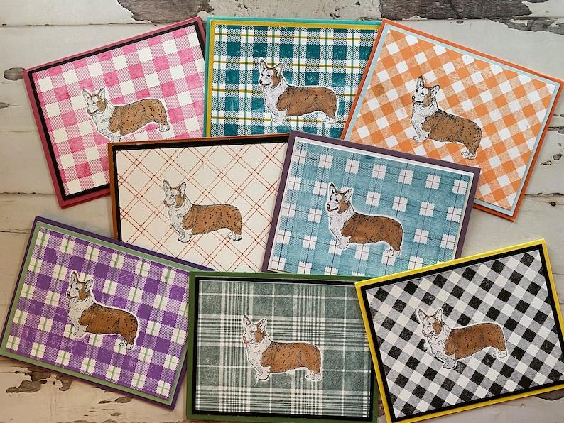 Welsh Corgi Dog Breed 8 Note Cards 8 West Highland Terrier Siberian Husky