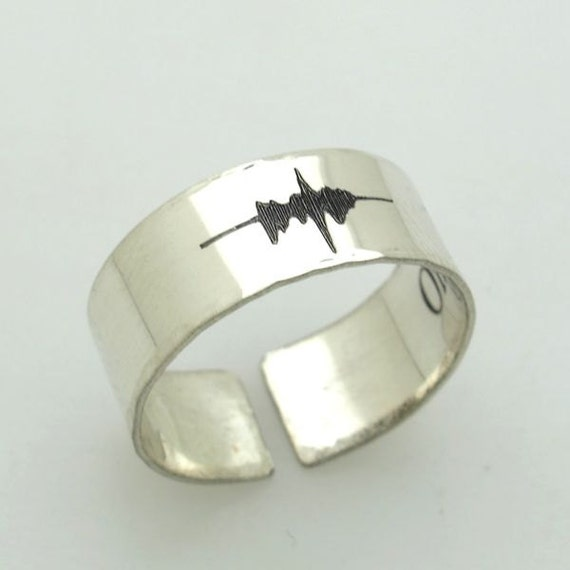 Voice engraved rings