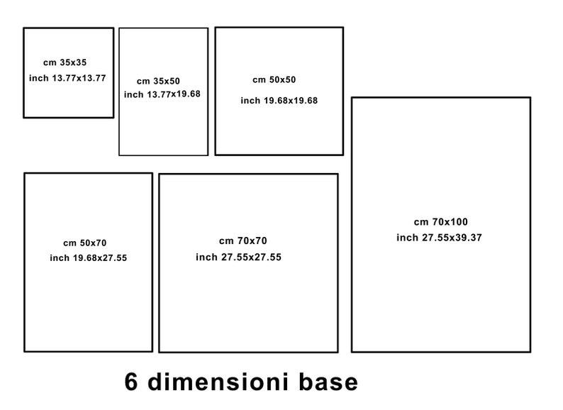Poster Print on Canvas Giacomo Balla Art 01 Digital screenprint on canvas 27x 39 in Papiarte