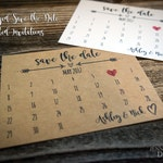 Save the Date Postcard. Rustic Save-the-Date Calendar Cards. Simple Save the Date. Wedding Announce. Calendar Invite. Kraft Save-the-Date.