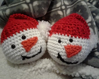 2bbb8959183 Crochet Snowman Heads (Repeat Crafter Me)