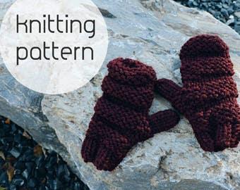 Knitting Pattern : Lexington Mittens