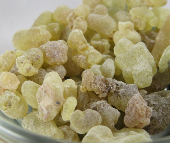 Frankincense resin incense, 1oz Boswellia Carteri loose incense for ritual use, Hellenism, Hellenic Polytheism, Orphic incense offering