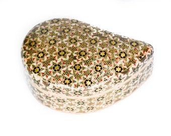 Vintage Khatam Kari Box - Persian Marquetry - Inlay Box - Middle Eastern Box - Trinket Box