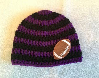 67354f3f9ab Baltimore Ravens crochet hat