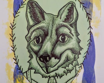 Frederick Fox Animal Print