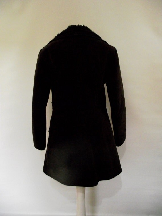 Alchtan Vintage 60s A for coat 70s Belfast of Ireland by Original brown McBride small suede N N suede Fashions size London YWgYr
