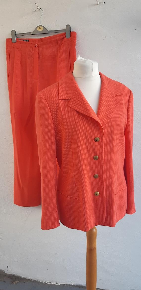 Vintage 90s Escada Margaretha Ley Trouser Suit Pan
