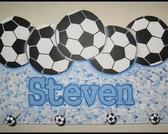 Personalized Soccer Name Plaque