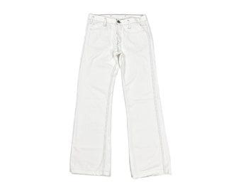 levi pants etsy 1970s Afro s a l e vintage 90s levi s white denim low rise sailor pants