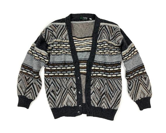 Vintage 80s Italian Knit Cardigan
